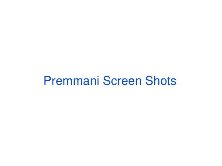 Premamaniscreenshots