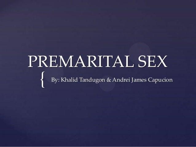 Premarital sex(final)