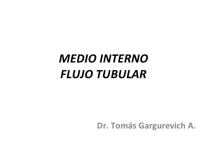 Flujo Tubular Renal
