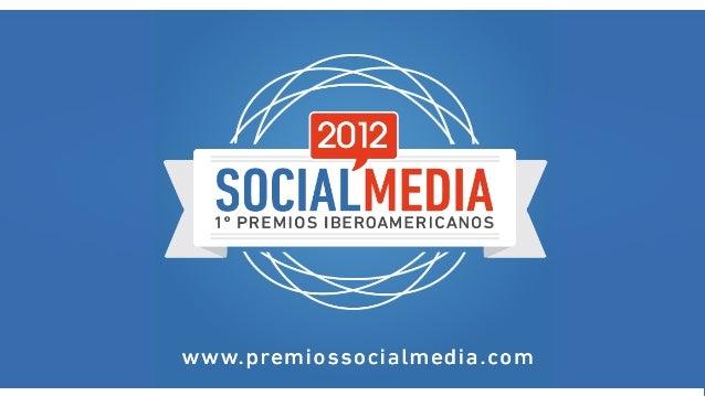 Premios Social Media con los finalistas