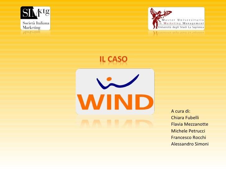 Premio Si Marketing Mumm Il Caso Wind 2008
