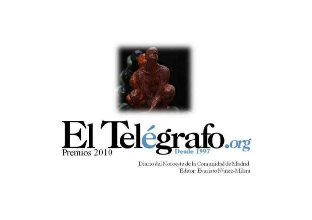 Premios telegrafo 2010. premio deportes sergio garasa mayayo