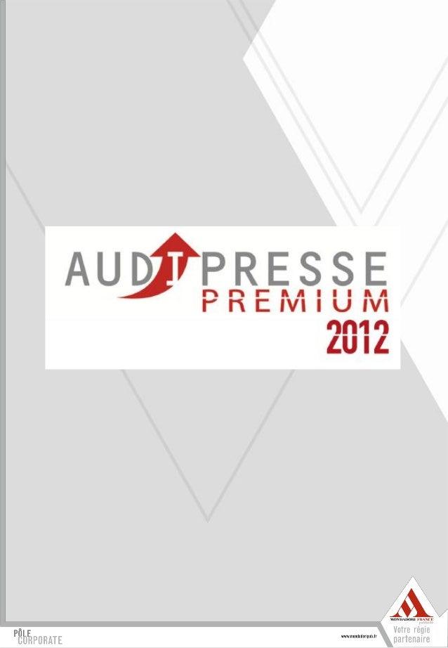 Premium2011 mondadoripub.fr résultats mondadori