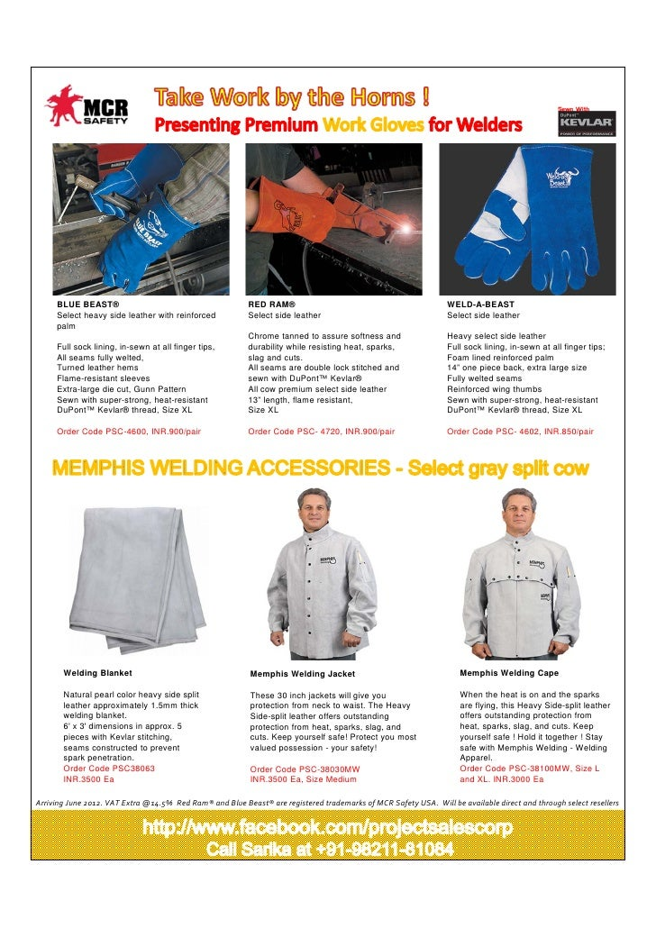 Premium Welding Workwear from Project Sales Corp !