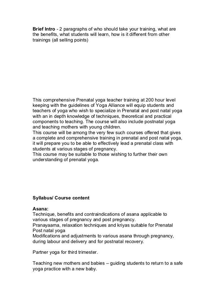 Brief Intro - 2 paragraphs of who should take your training, what arethe benefits, what students will learn, how is it dif...