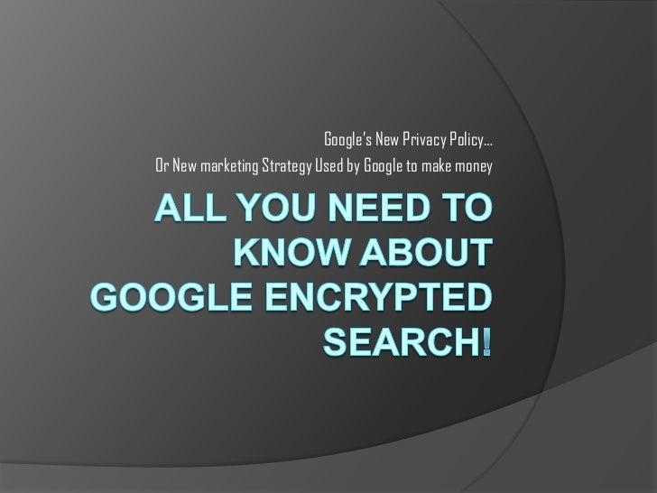 Google's Not provided keywords