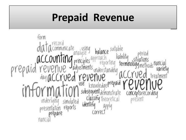 Prepaid  Revenue<br />