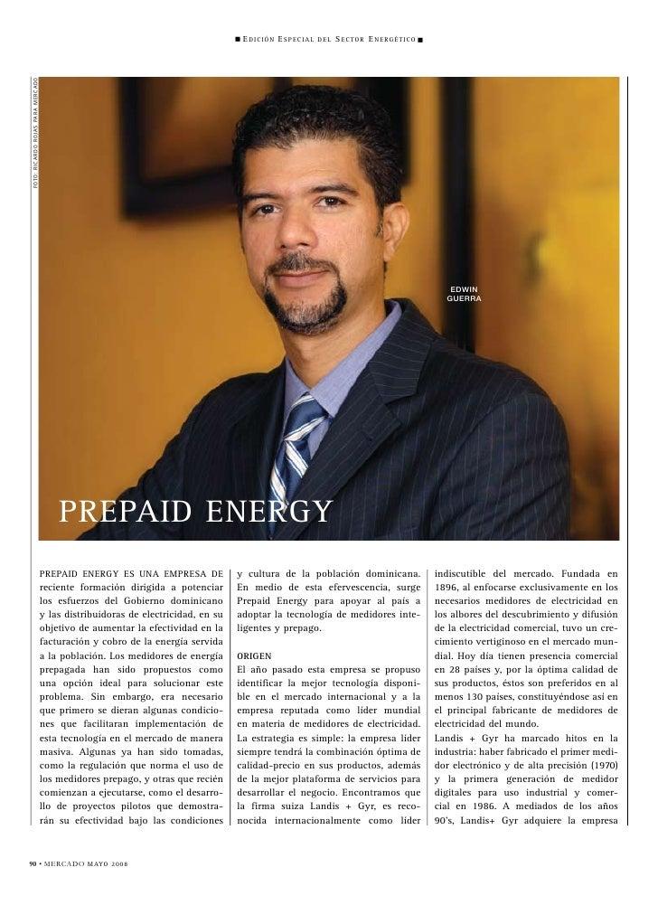 Perfil corporativo Smart Energy