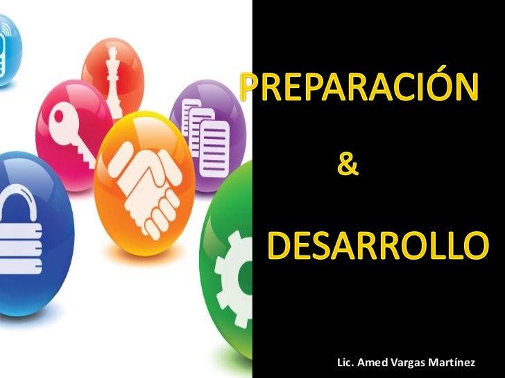 Lic. Amed Vargas Martínez