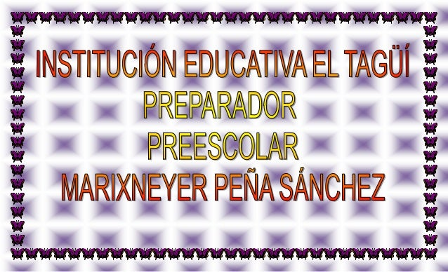 Preparador 2012 de preescolar  primer periodo