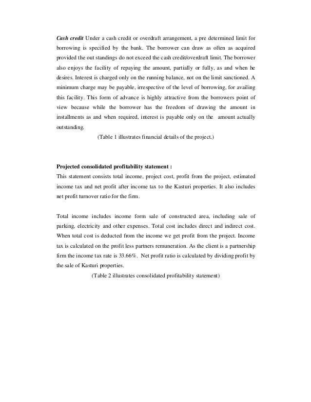 Preparation Of A Financial Report To Be Submitted To A