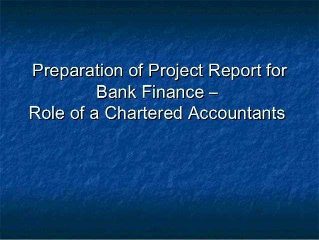 research project report in finance