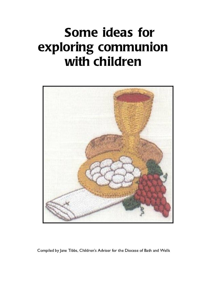 Preparing children for communion