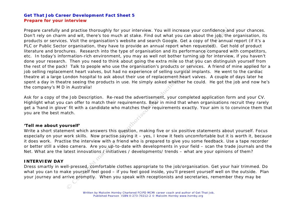 interview skills that win the job pdf