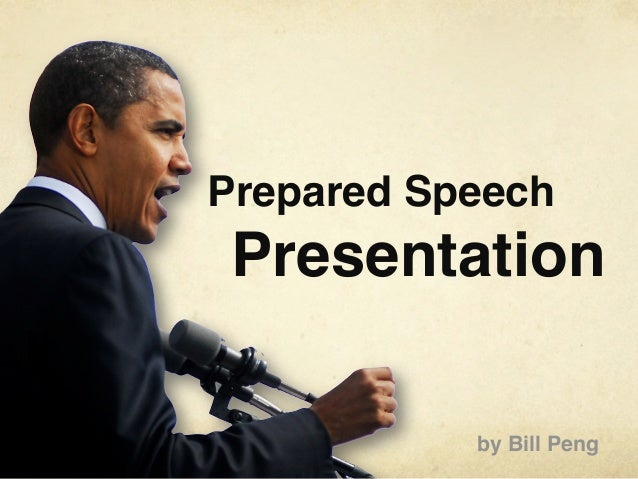 Spring 2012 Prepared Speech Presentation SGD