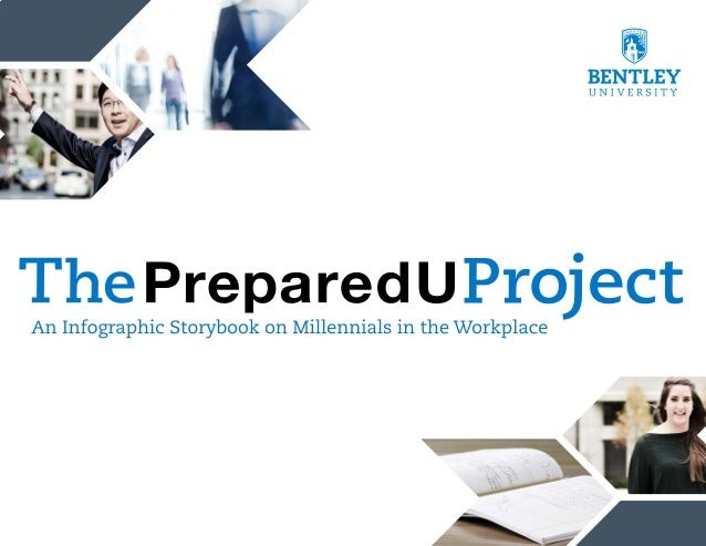 Bentley University's PreparedU Project: Millennials in the Workplace Infographic Storybook