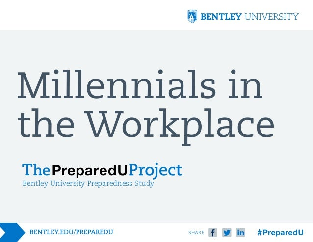 Bentley University Preparedness Study  SHARE