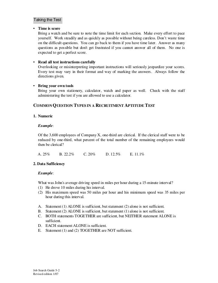 verbal aptitude test questions and answers pdf