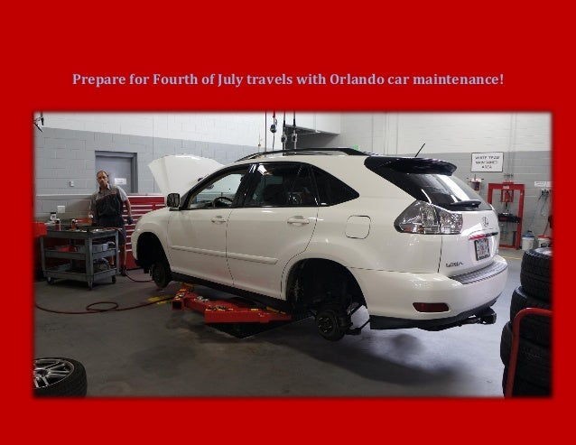 Prepare for Fourth of July travels with Orlando car maintenance!