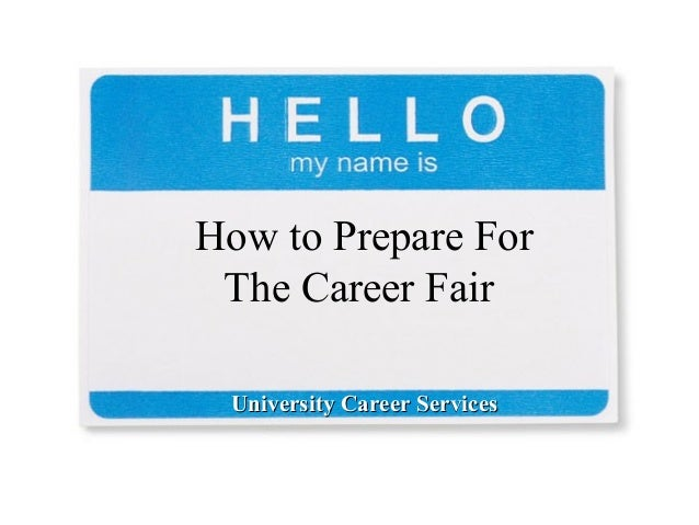 how to prepare for a job fair