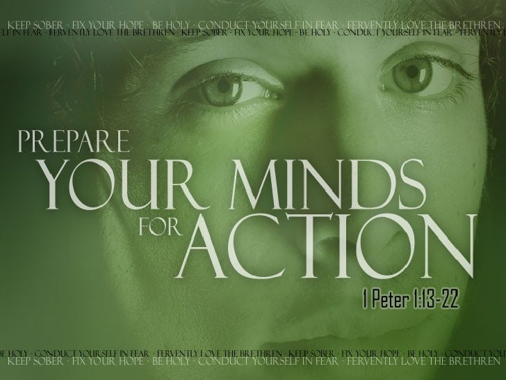 Prepare Your Minds for Action
