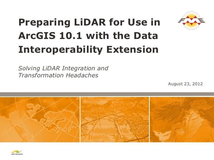 how to get lidar data
