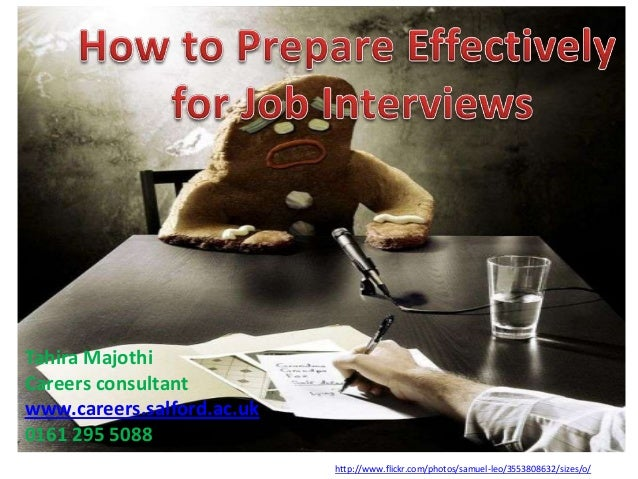How to Prepare Effectively for Job Interviews