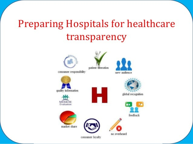 Preparing Hospitals for healthcare transparency