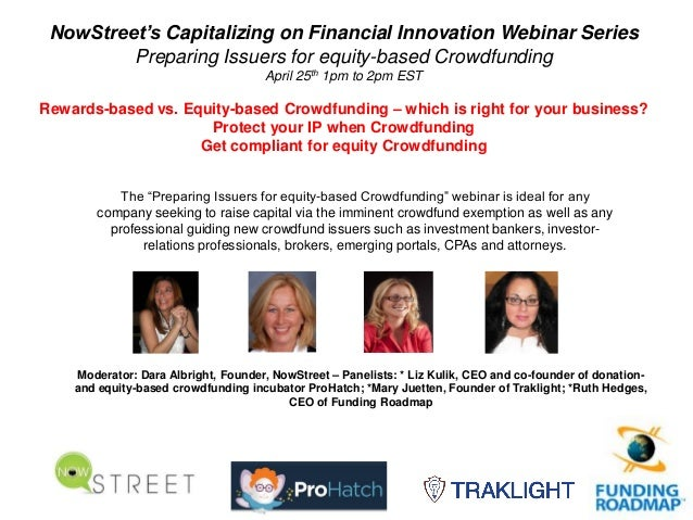 Preparing issuers for equity based crowdfunding 42513