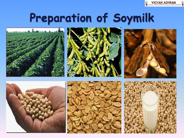 Preparing soymilk