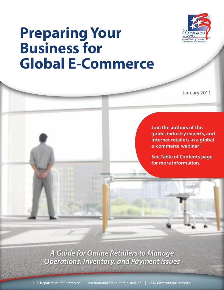 Preparing your business for global e commerce