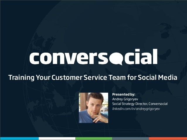 Training Your Customer Service Team for Social Media