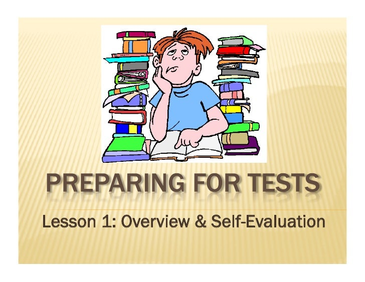 Lesson 1: Overview & Self-Evaluation