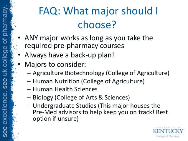 Should I take pre-pharmacy course in community college ?