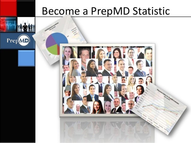 Become a PrepMD Statistic