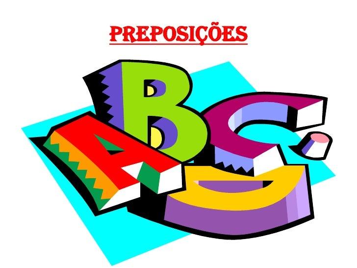 Preposições<br />