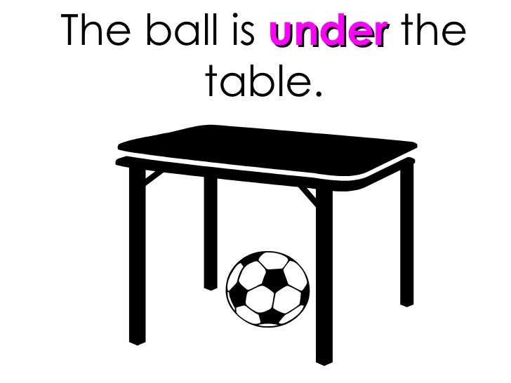 Gallery images and information: Ball Under The Table Clipart