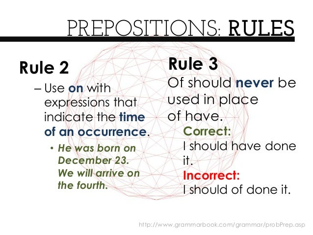 rules of preposition 'to' is one of the most common prepositions in english the preposition 'to' also a part of the infinitive form of the verb for example, these are all infinitives.