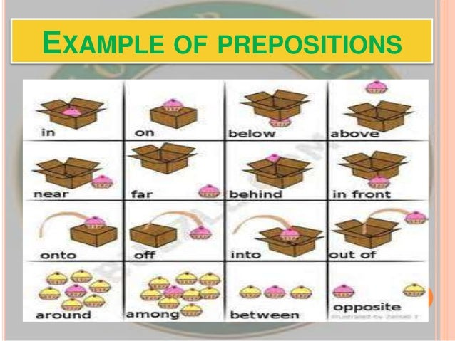 preposition examples - alisen berde