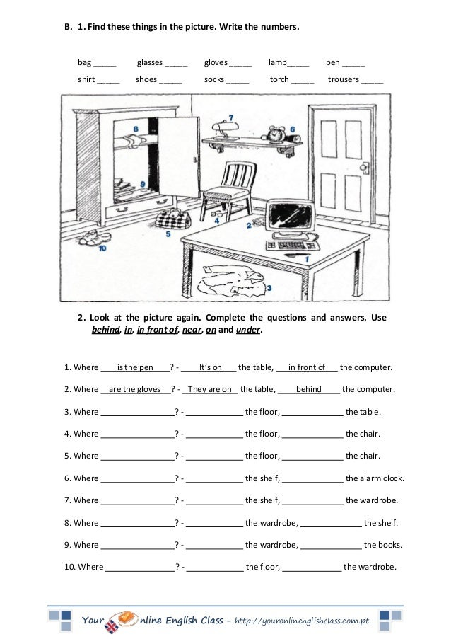 prepositions of place worksheets in on under prepositions of place428 free preposition. Black Bedroom Furniture Sets. Home Design Ideas