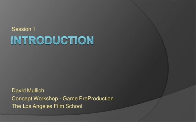 LAFS PREPRO Session 1 - Introduction