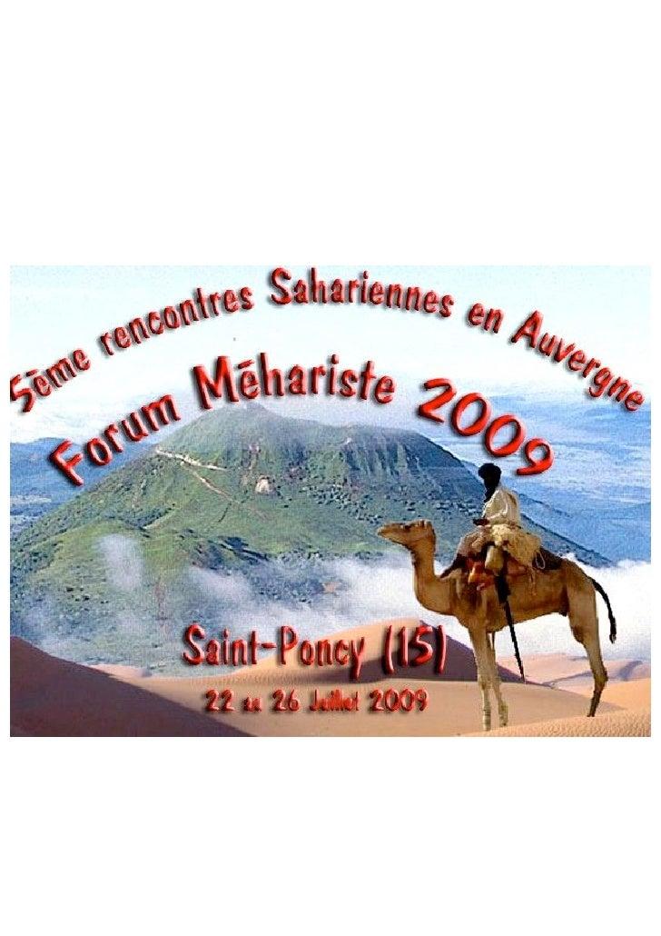 Pré-programme conférences                                                     (à la date du 1er février 2009)             ...