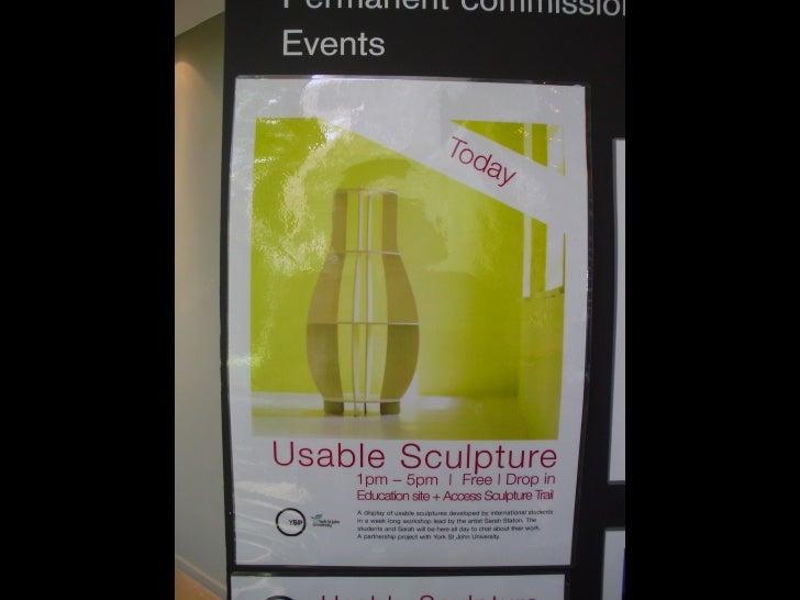 temperorrary instillations at yorkshire sculpture park