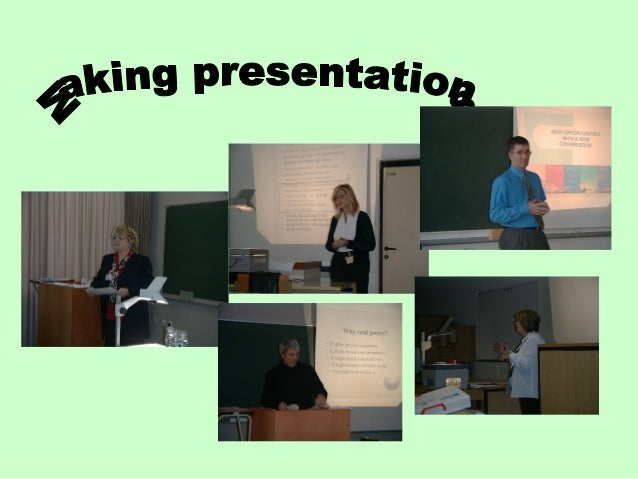 Introduction In this unit you are going to learn how to make an effective presentation in English. You will need this skil...
