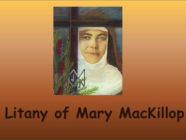 Litany of Mary MacKillop<br />