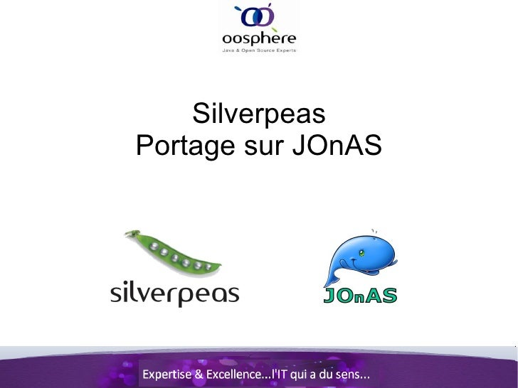 Déploiement de Silverpeas sur JOnAS