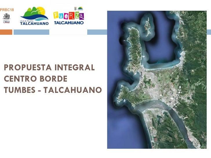 Plan Maestro Comuna de Talcahuano