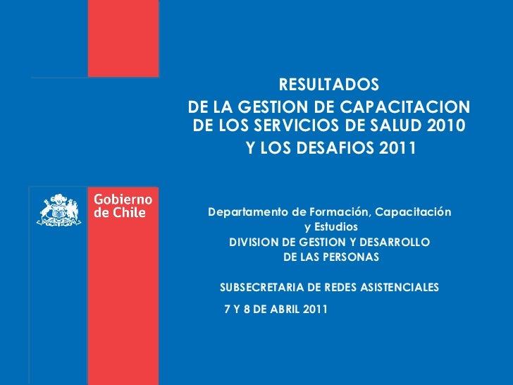 Pres. reunión nac. capacitación 7 y 8 abril  2011