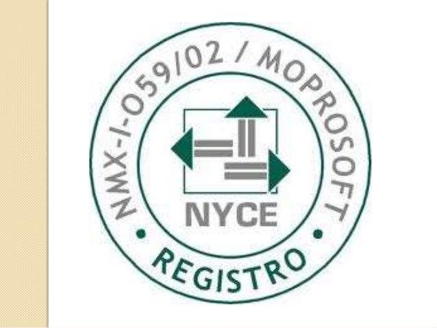 Origen   El origen del estándar MoProSoft es la necesidad de cumplir con la estrategia número 6 del Programa de Software ...