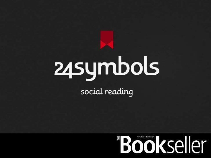24symbols. The Spotify Model for eBooks - Presentation